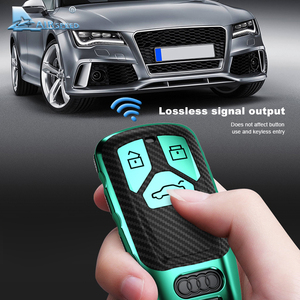 Image 5 - AIRSPEED funda protectora de fibra de carbono para llave de coche, cubierta protectora, para Audi A4, A4L, A6L, A5, B9, Q5, Q7, TT, TTS, 8S, S5, S7