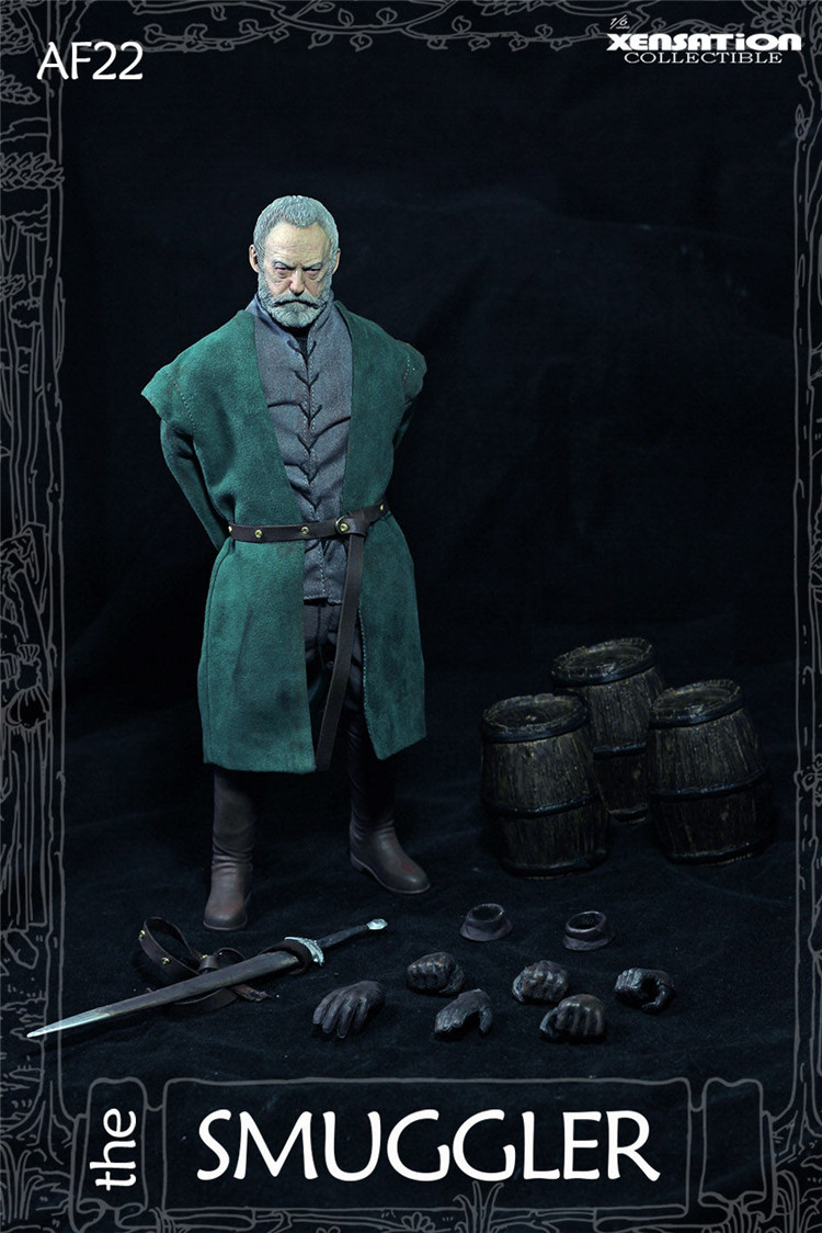 in stock Xensation AF23 Game of Thrones Smuggler Davos Seaworth 1//6 Figure