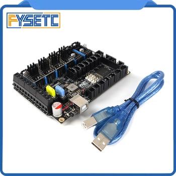 S6 V1.2 Board 32 Bit Control Board With 4pcs TMC5161 V1.0 Stepper Motor Driver SPI Flying Wire MX Connector VS F6 V1.3 SKR V1.3 фото