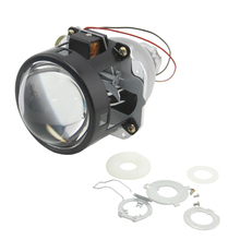 цена на SHUOKE 2.5 Inch Bi xenon HID Projector Lens 2 Type RHD LHD Halo Hella Bixenon Car Styling Modify for d2s d2h Bulb Free Shipping