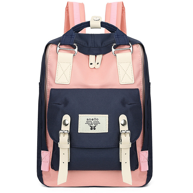 Girl Schoolbag Small Middle Junior School Student Backpacks For Womne Unicorn Doughnut <font><b>Mochila</b></font> <font><b>Escolar</b></font> Girls <font><b>Bags</b></font> 35cm height image