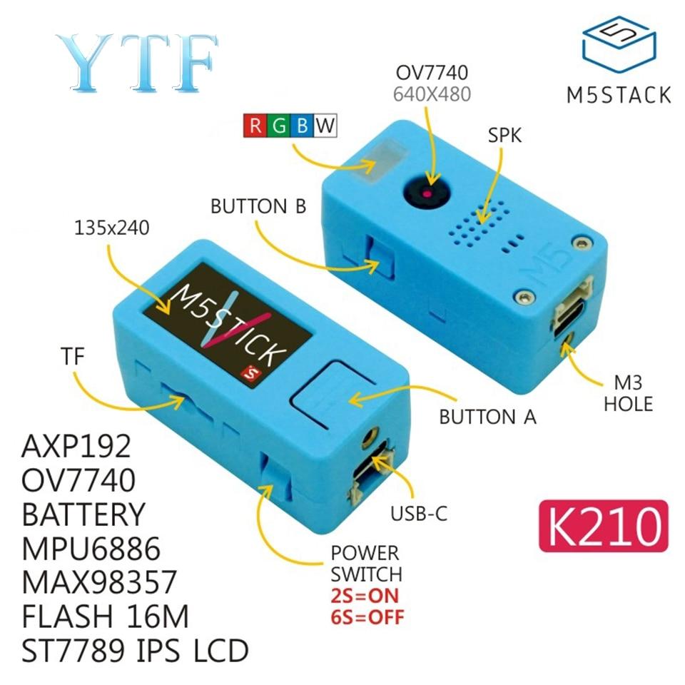 M5Stack Stick V AI K210 Smart Camera Chip Boards MPU6886