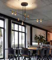 Lámpara colgante vertigo LED moderna La suspensión E27 Constance Guisset est un luminaria para comedor restaurante lampe lustre