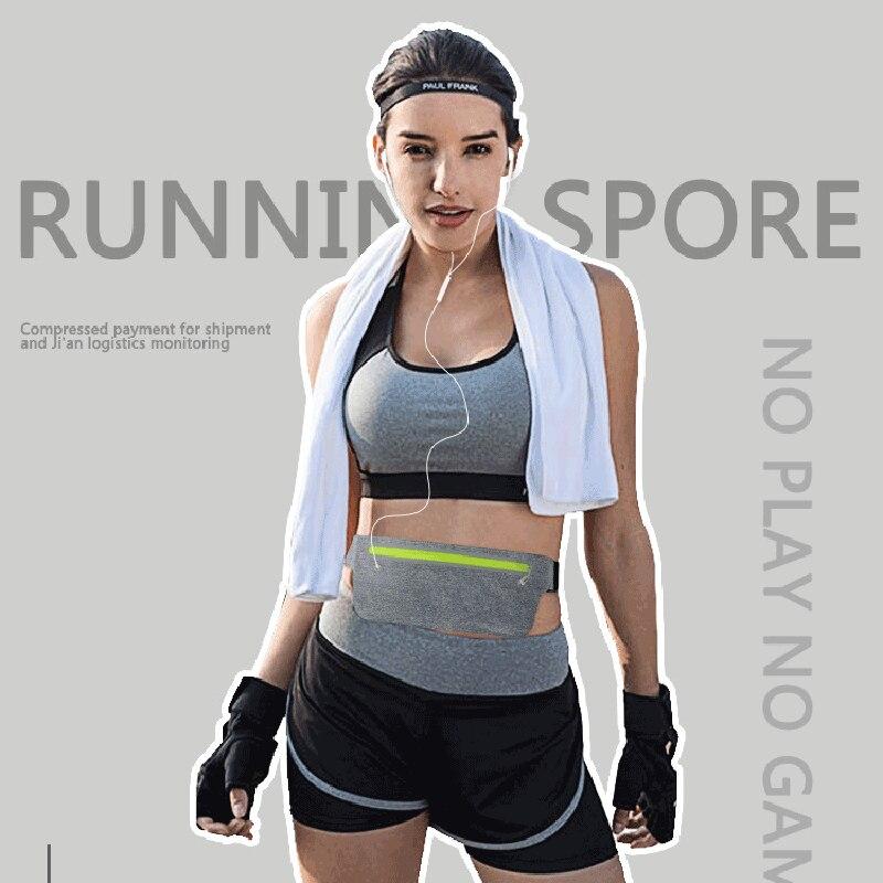 Professional Trail Running Bags Waist Sport Belt Cycling Gym Marathon Ultralight Hidden Running Accessories