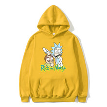 Mens Hoodie Autumn And Winter Cotton Printed Cartoon Pattern Long-sleeved Europe Large Size Loose