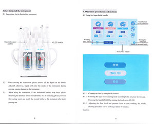 Image 5 - 6 In 1 H2O2 Water Oxygen Jet Peel Hydra Beauty skin Cleansing Hydro Dermabrasion Hydra facial Machine Water Aqua Peeling