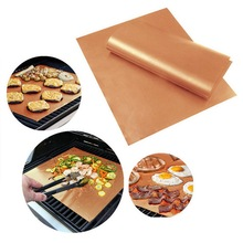 Barbecue Accessories Non-stick Reusable BBQ Mat Bakeware Baking Grill Heat Resistance Microwave Bbq Cover Barbacoa Outdoor