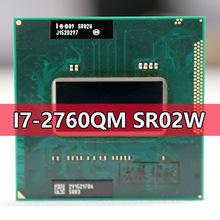 Intel Core I7-2760QM SR02W Processor I7 2760QM Notebook Laptop Cpu Socket G2 RPGA988B Geschikt Voor HM65 75 76 77 Chipset laptop
