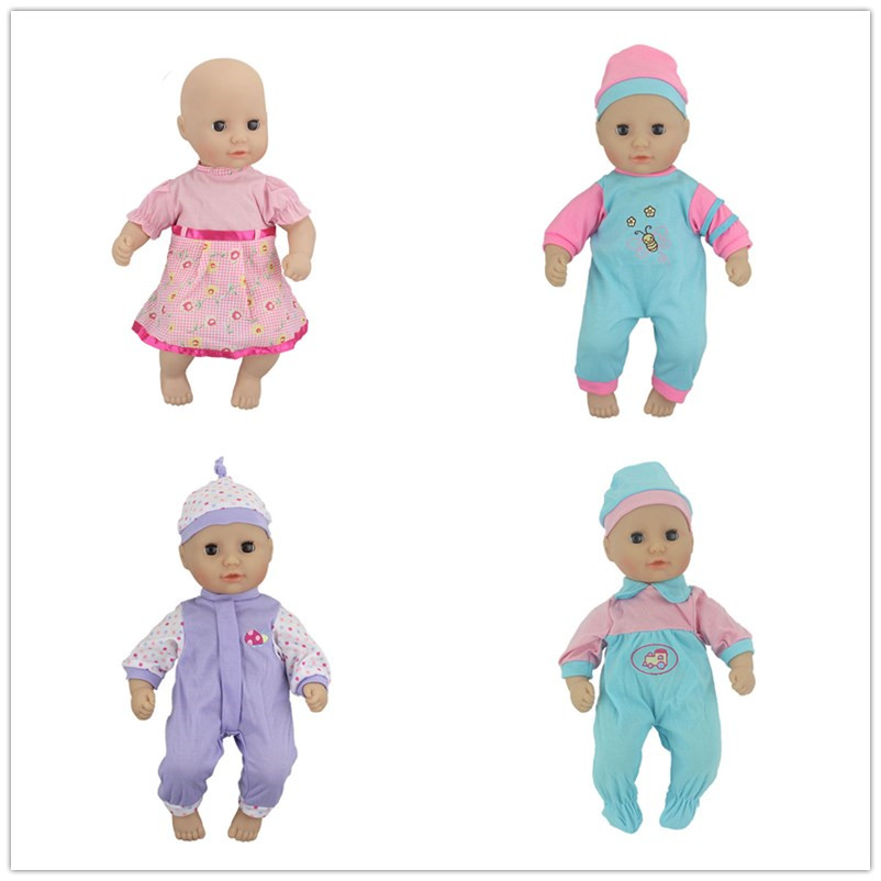 New 15 Styles Doll Clothes Wear For 36cm My First Annabell, 14 Inch Baby Doll Clothes, Children Best Birthday Gift