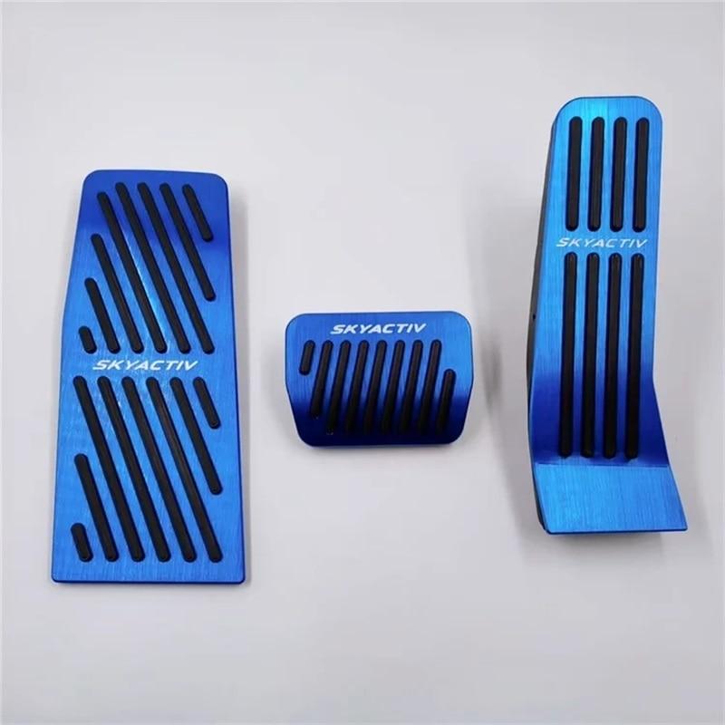 6 CX3 CX5 CX9 Non Sill Gas Brake Foot Pedal Kit For Axela Atenza Mazda 3