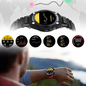 Image 4 - DT97 Outdoor GPS Positioning Sports Smartwatch IP67 waterproof TF Card Music Play Call Message Reminder Heart Rate Smart Watch