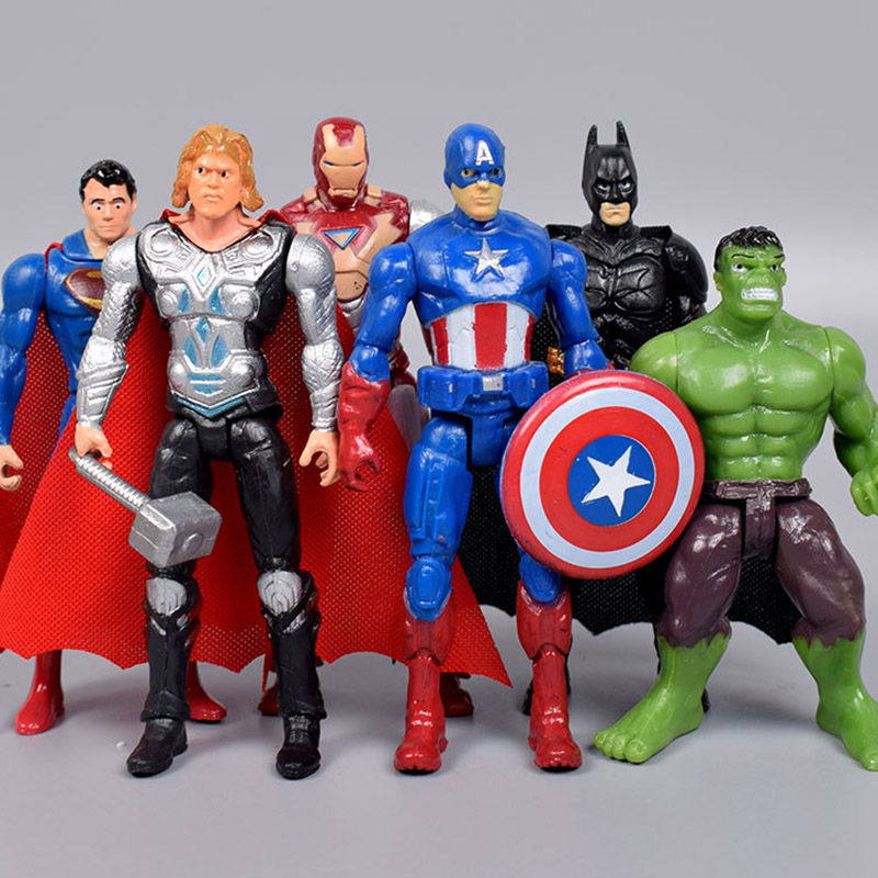 24 Marvel Avengers Party Favors Gift Toy Bags Thor Hulk Iron Man Birthday Treat