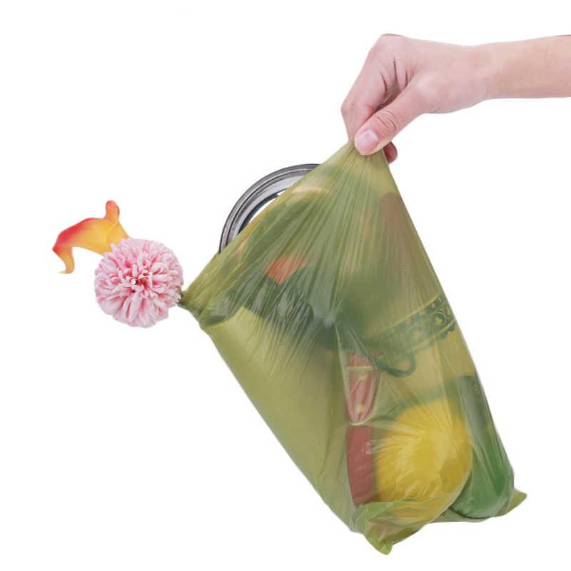 Saco De Cocô de Resíduos Animais de Estimação degradável Ambiental Ao Ar Livre Cão Transportadora Sacos De Lixo Clean-up Bag Waste Pick Up Limpa saco