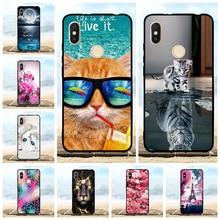 For Xiaomi Redmi S2 Y2 Case Ultra-slim Soft TPU Silicone Cover Cat Patterned Bumper Capa