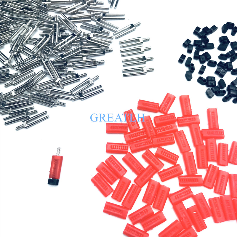 500sets 21MM Dental Laboratory Use Double Twin Pin With Plastic Easily Used With Pindex Machine Length