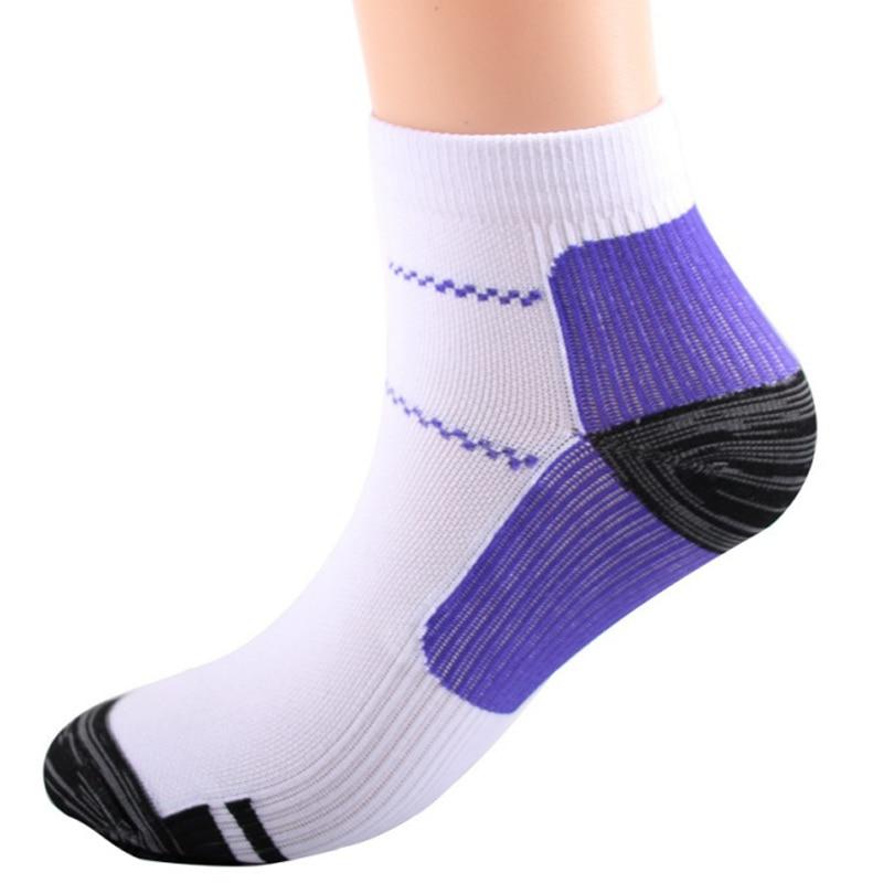 running - 1 Pair Breathable Foot Compression Socks For Plantar Fasciitis Heel Spurs Arch Pain Comfortable Socks Running Tennis Sports Sock