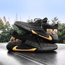 Men Shoes Sneakers Breathable Mesh Lace-up Casual Shoes Soft Platform Flat Shoes Man Stylish Black Adult Male Tenis Footwear zanvllchy men shoes 2018 summer soft breathable men casual shoes lace up high quality couple flat mesh ultra boost tenis shoes