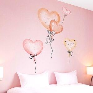[Shijuekongjian] Мультяшные воздушные шары, наклейки на стену DIY, детские настенные наклейки для дома, детские комнаты, украшение для детской спальн...