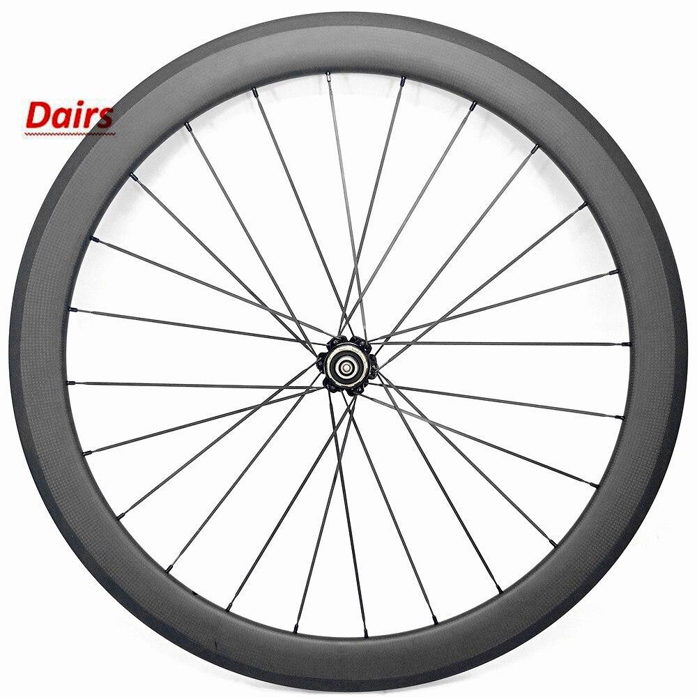 700c road clincher wheel 50x23mm NOVATEC 372 hub rear wheel 900g bicycle carbon wheels 1432 Spoke carbon road wheels