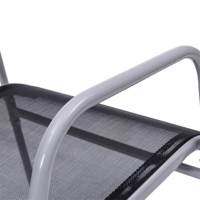 5 Pieces Bistro Set Garden Chairs 5