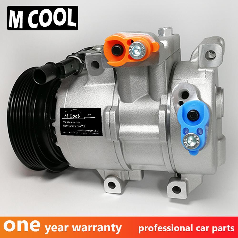 Compressor de ar condicionado a/c ac para hyundai i20 1.4 1.6 accent mk iv 1.4 2010-2018 hyk318 977011r000 977011j101 977011j100