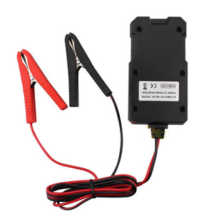 Image 2 - جهاز اختبار ترحيل السيارة الإلكتروني العالمي ، 12 فولت ، مدقق بطارية السيارة