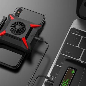 Image 1 - Мобильный телефон охладитель для смартфонов Android Huawei Xiaomi Sumsung iPhone Case PUBG, Охлаждающий радиатор температуры при падении
