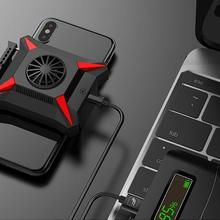 Mobile Phone Cooler for Smartphone Android Huawei Xiaomi Sumsung iPhone Case PUBG Game Cooling Drop Temperature Radiator