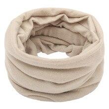 Модный роскошный женский шарф унисекс, однотонный Балаклава Флисовая трикотажная накидка femme