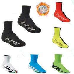 חדש חורף תרמית רכיבה על אופניים נעל כיסוי ספורט גברים ונשים MTB נעלי אופני עטיפות אופניים רובוטים Scotting כיסויי נעלי גשם