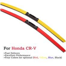 цена на HESITE Premium Universal Windshield Wiper Blades For Honda CR-V 2005 2007 2011 2014 2015 2016 2019 Hybrid Front Window Wipers