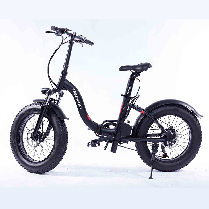 "Gps-02012ea 20"" New Much Popular Fat Tire Folding Bicycle Electric Folding Bike E-bike Fat Ebike 36 V electric bike cheap 1"