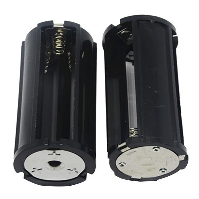 Caja Convertidora de baterías 3x18650, cilindro convertidor de baterías, 1X 2X 3X secciones en paralelo, Universal
