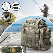 1pc Outdoor Large Capacity Fishing Gear Bag Multi-Function B