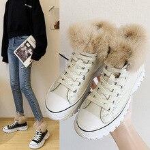 Zapatillas deportivas impermeables para mujer, Zapatillas altas para mujer, zapatos de invierno con plataforma 2019 para mujer, zapatillas deportivas