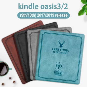 PU Leather Deer Head Soft Case for 7 Kindle Oasis 2 3 eReader for  Kindle Oasis 2017/2019 Auto Sleep/Wake Magnetic Cover for amazon kindle oasis 2019 kindle oasis 3 7 0 e reader transformer case for kindel oasis 2017 oasis 2 sleeve cover gift