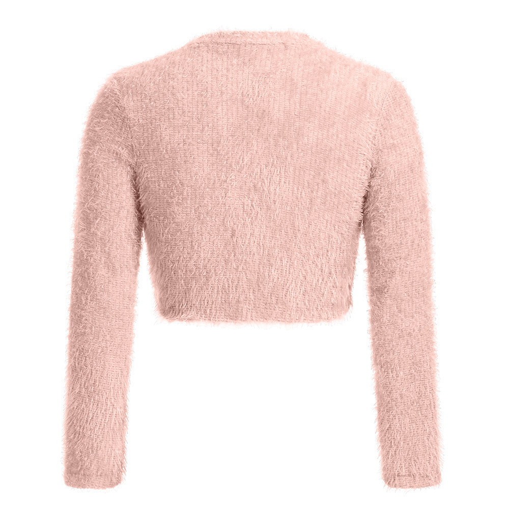 Women Fashion V-neck Tops 18 Newest Women's Winter Long Sleeve Sweater Autumn Jumper Tops Blouse Women Clothes 7