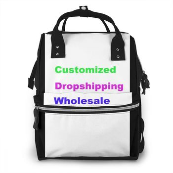 NOISEDESIGNS High-quality Mummy Bags Fashion Nappy Changing Bag Multifunctional Double-Shoulder Travel Baby Diaper Bags insular baby diaper backpacks nappy bags changing multifunctional bags for mommy baby stroller bags for storage shipping free