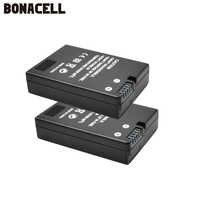 Batería de cámara Bonacell EN-EL14 EN EL14 EN-EL14a ENEL14 EL14a + cargador Dual USB LCD para Nikon P7800, P7700, P7100, P7000, D550