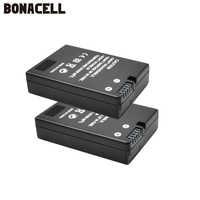 Bonacell EN-EL14 EN EL14 EN-EL14a ENEL14 EL14a batterie pour appareil photo + LCD USB double chargeur pour Nikon P7800, P7700, P7100, P7000, D550