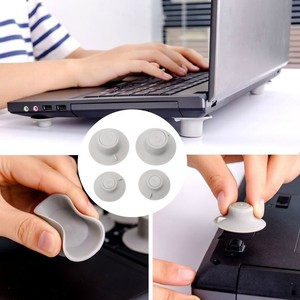 top selling product 2020 4 Pcs Notebook Accessory Laptop Heat Reduction Pad Cooling Feet Holder Support Wholesale Dropshipping