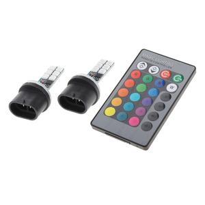 2 шт. 880 881 H1 H3 RGB светодиодный головной светильник лампочка 1200LM Противотуманные фары Дневные Фары Светильник лампы для автомобилей грузовых автомобилей аксессуары Передние LED-фары для авто      АлиЭкспресс
