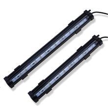 3 размера 100-240 в подводный светильник светодиодный светильник для аквариума цветной погружной водной травы RGB изменяющий цвет водонепроницаемый