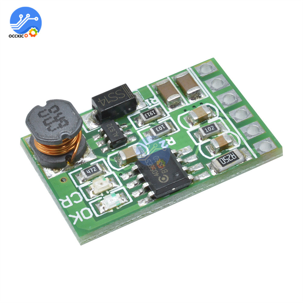DC 5V/12V UPS 18650 Power Bank Battery Charger Board DC-DC Step-up Converter 2 In 1 Charge And Discharge Module For Lithium