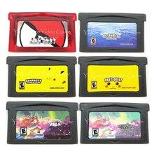 Console-Card Cartridge Video-Game Poke-Ocean Compilation Nintendo Gba Langauge-Edition