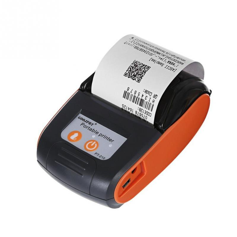 58mm Mini Portable Bluetooth Wireless Thermal Receipt Ticket Printer For Mobile Phone Bill Machine Shop Printer For Store
