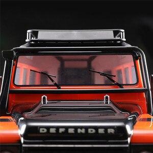 Image 1 - Limpiaparabrisas delantero de Metal para coche, accesorio de piezas de control remoto, para Traxxas TRX4 Defender 1/10, 1 par