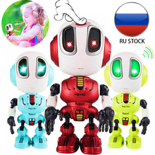 Recording Talking Robot toy for Kids Children Toys Educational Robots Toys LED Lights Alloy Gifts for girls boys birthday