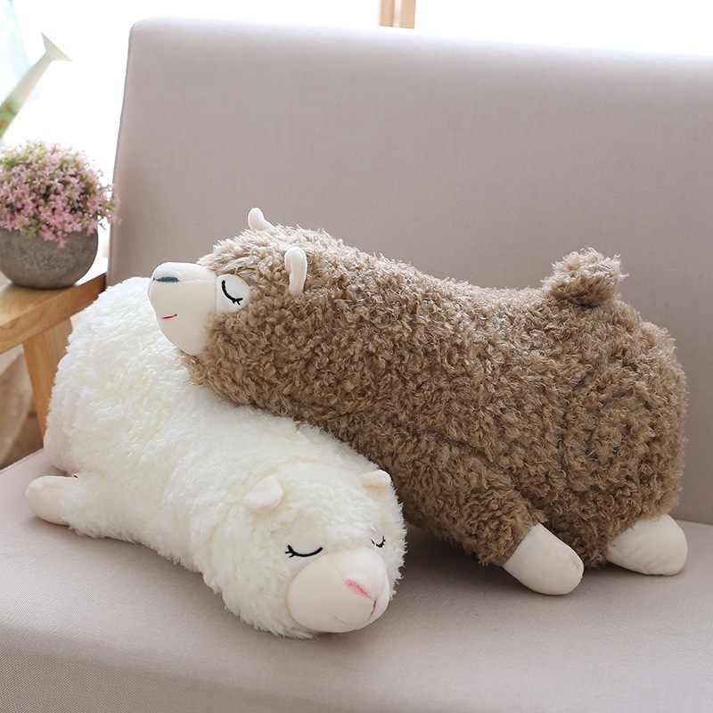30-60cm cute wool velvet animal filled doll pillow cartoon toy gift for children