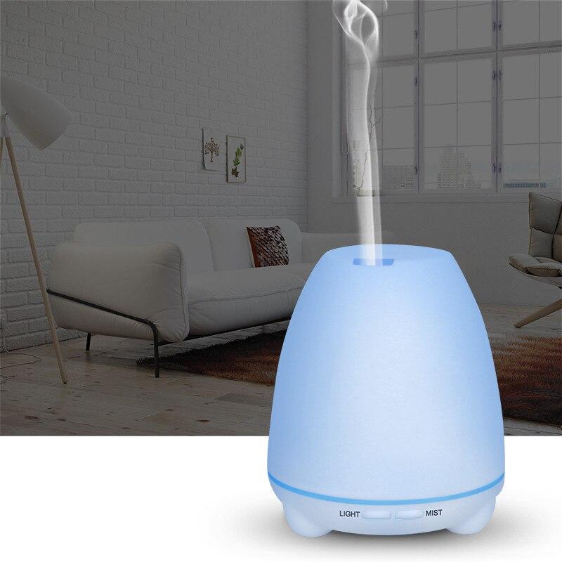 New Aroma Diffuser Air Freshener Office Home Mini Humidifier 7 Colorful Night-Light US EU UK JP AU Plug Essential Oil Diffuser